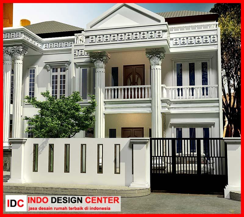 Contoh Karya Jasa Desain Rumah: Membuat Gambar Rumah Klasik Sederhana, Jasa Desain Rumah