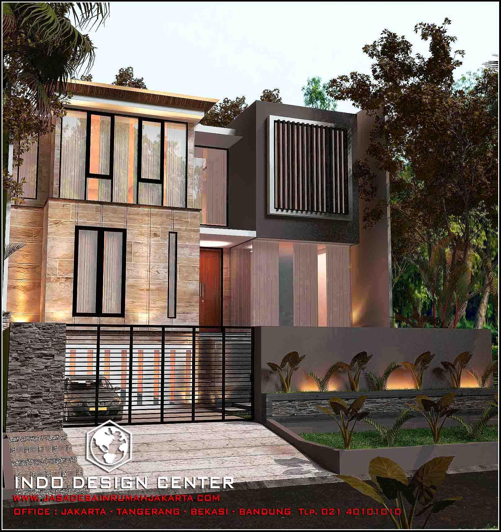 12 Desain Rumah Minimalis Modern 2 Lantai Mewah: Rumah Minimalis 2 Lantai Modern 2017