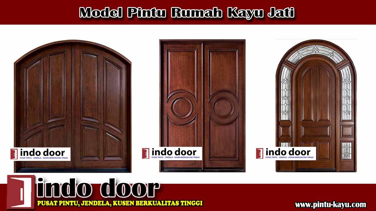 Model Pintu Rumah Kayu Jati - Jual Pintu Kayu - Model ...