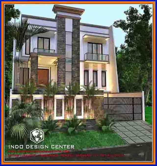 82 Desain Rumah Mewah Minimalis Modern 2 Lantai Model Terbaru 2017