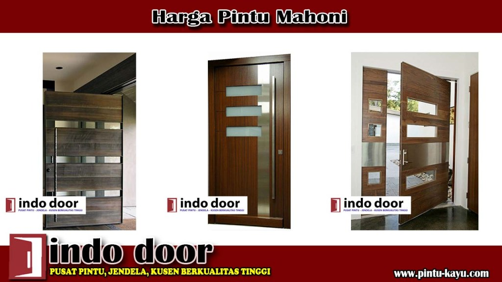 Harga Pintu Mahoni