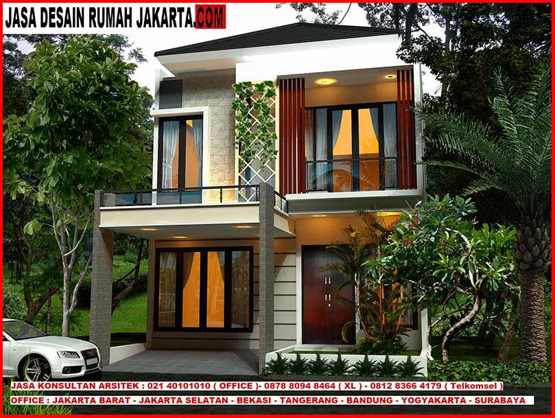 Jasa Desain Rumah Minimalis 2 Lantai Ukuran Lebar 8 x 12 3