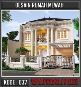 Arsitek Desain Rumah Mewah Bu Maudy