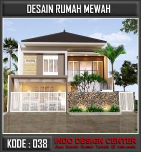 Arsitek Desain Rumah Mewah Pak Jaya