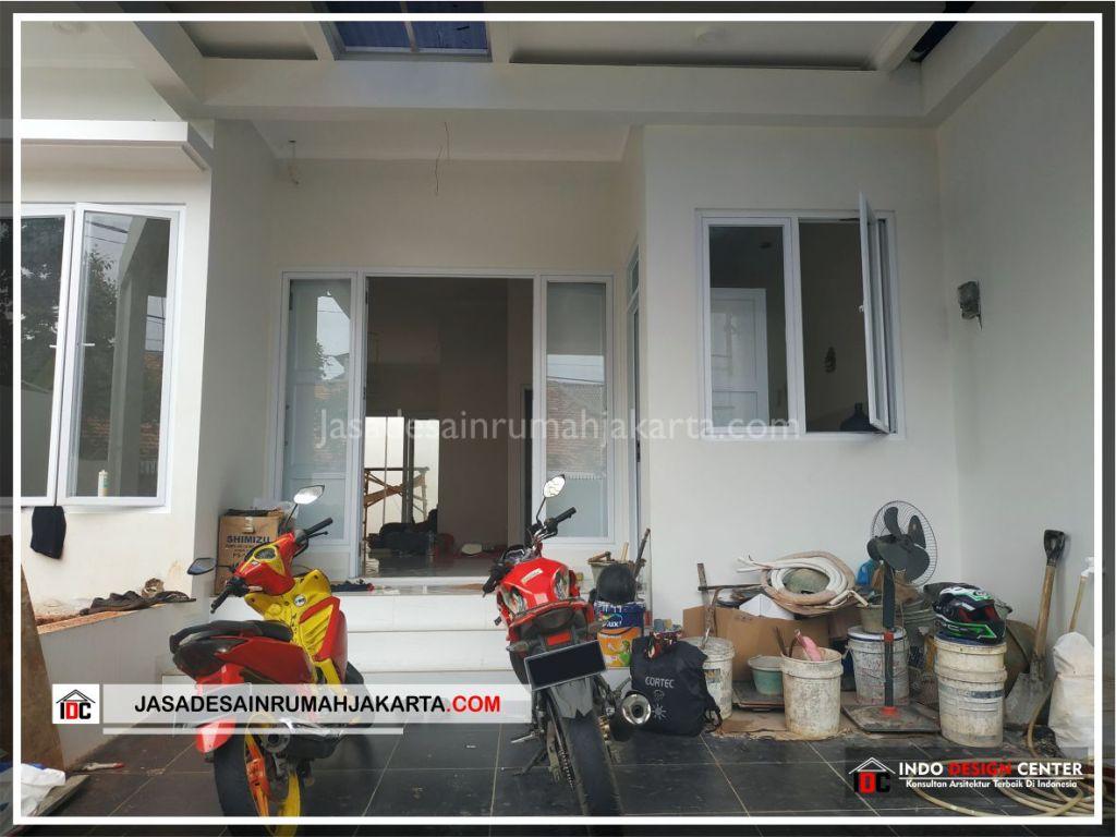 Area Carport Rumah Minimalis Bpk Soni-Arsitek Gambar Rumah Klasik Modern Di Jakarta-Bekasi-Surabaya-Tangerang-Bandung-Jasa Konsultan Desain Arsitek Profesional