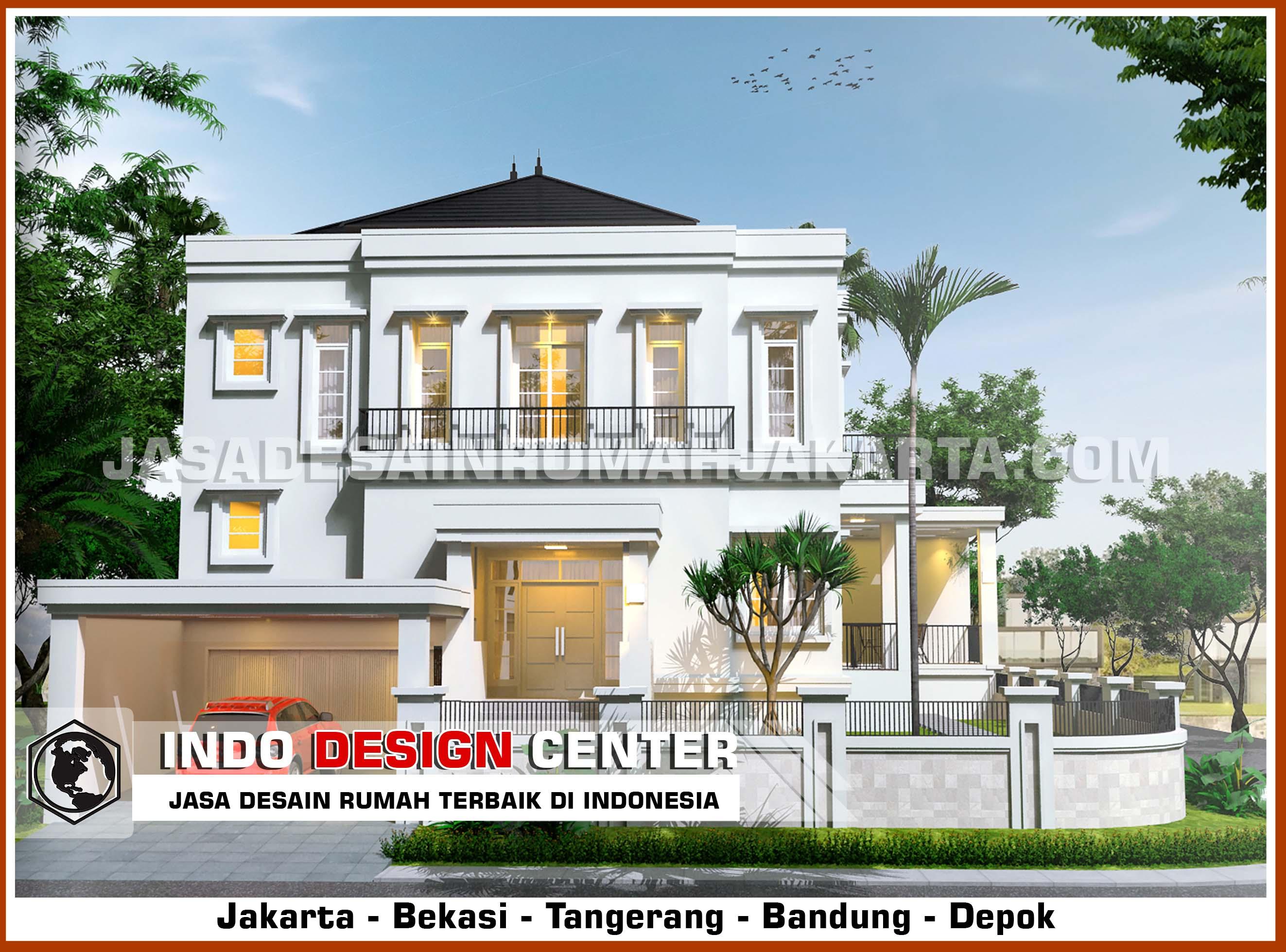 arsitek desain rumah mewah bapak albert jasa desain