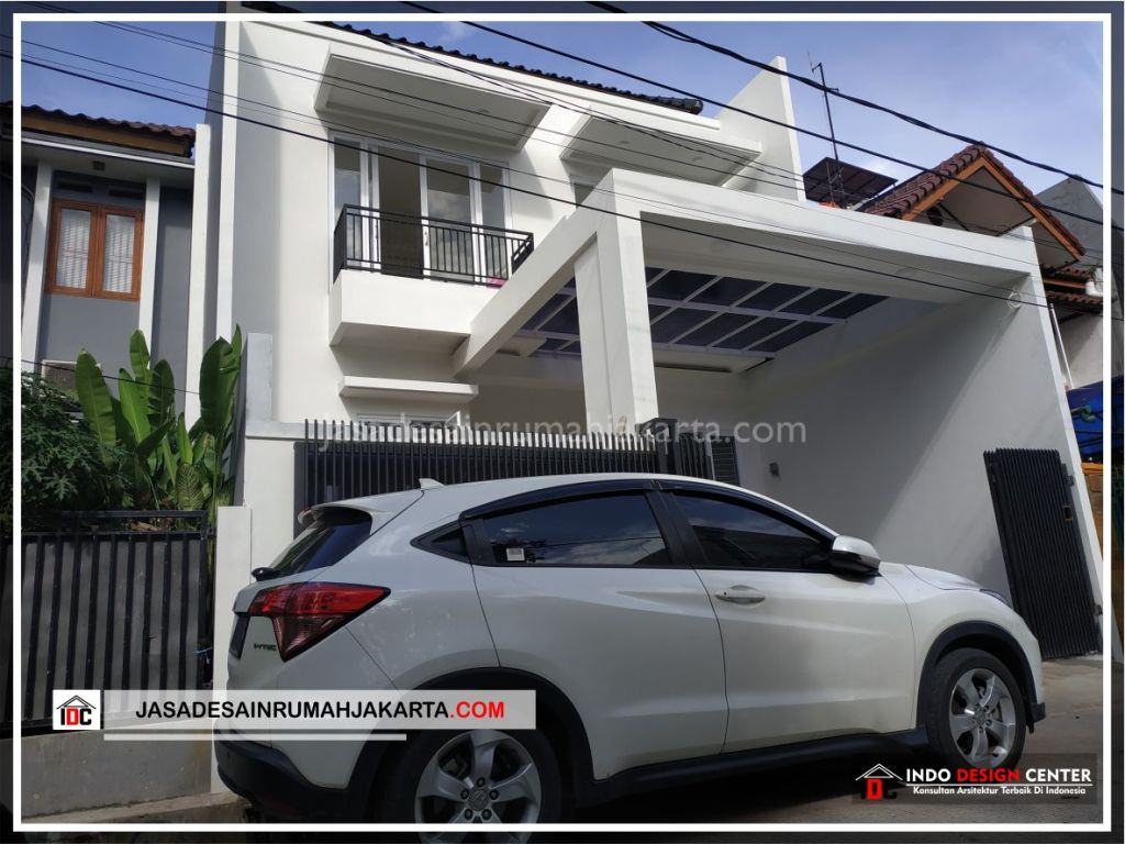 Tampak Depan Rumah Minimalis Bpk Soni-Arsitek Gambar Rumah Klasik Modern Di Jakarta-Bekasi-Surabaya-Tangerang-Bandung-Jasa Konsultan Desain Arsitek Profesional 4