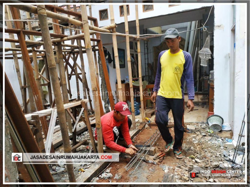 Perakitan Tulangan Rumah Bpk Tarsi-Arsitek Gambar Desain Rumah Minimalis Modern Di Tangerang-Jakarta-Surabaya-Bekasi-Bandung-Jasa Konsultan Desain Arsitek Profesional 1