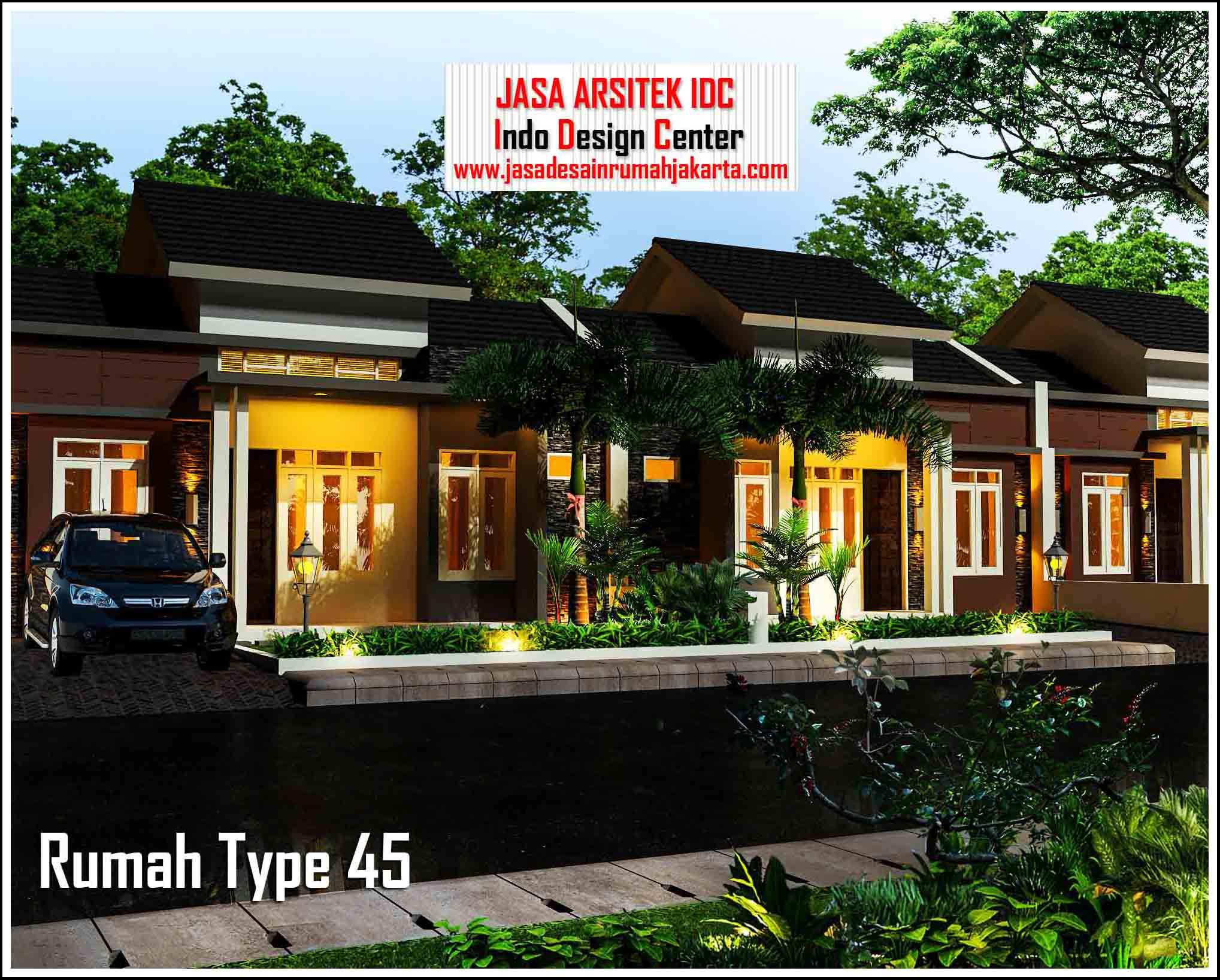 Desain Rumah Type 45 Arsip Jasa Desain Rumah Jakarta