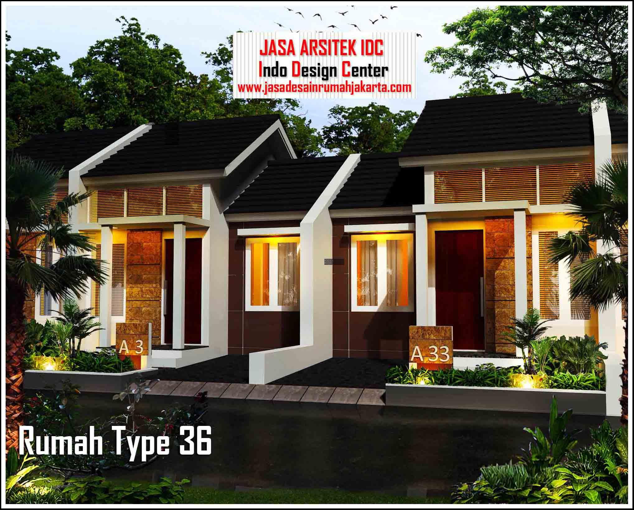 Gambar Rumah Minimalis Type 36 || Jasa Desain Rumah Murah ...