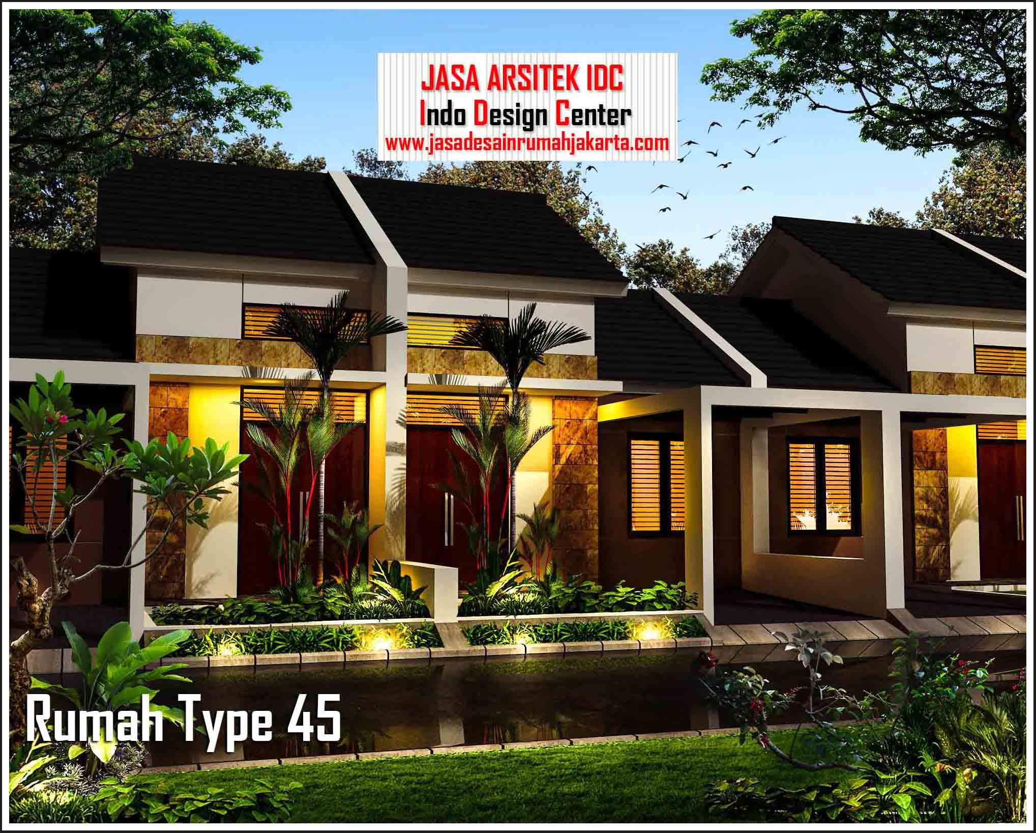 Desain Rumah Type 45 Arsip Jasa Desain Rumah Jakarta Jasa