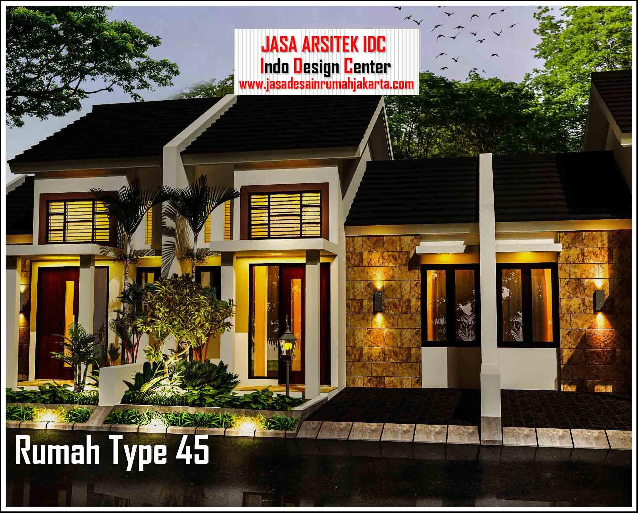 type  45 90 Arsip Jasa Desain  Rumah  Jakarta Jasa Gambar