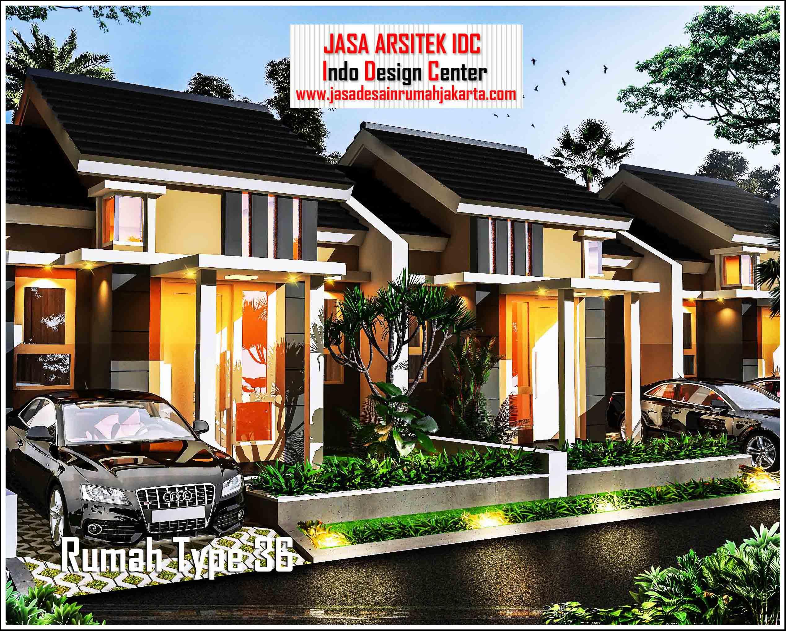 Jasa Gambar Rumah Minimalis Type 36 || Jasa Arsitek Rumah ...