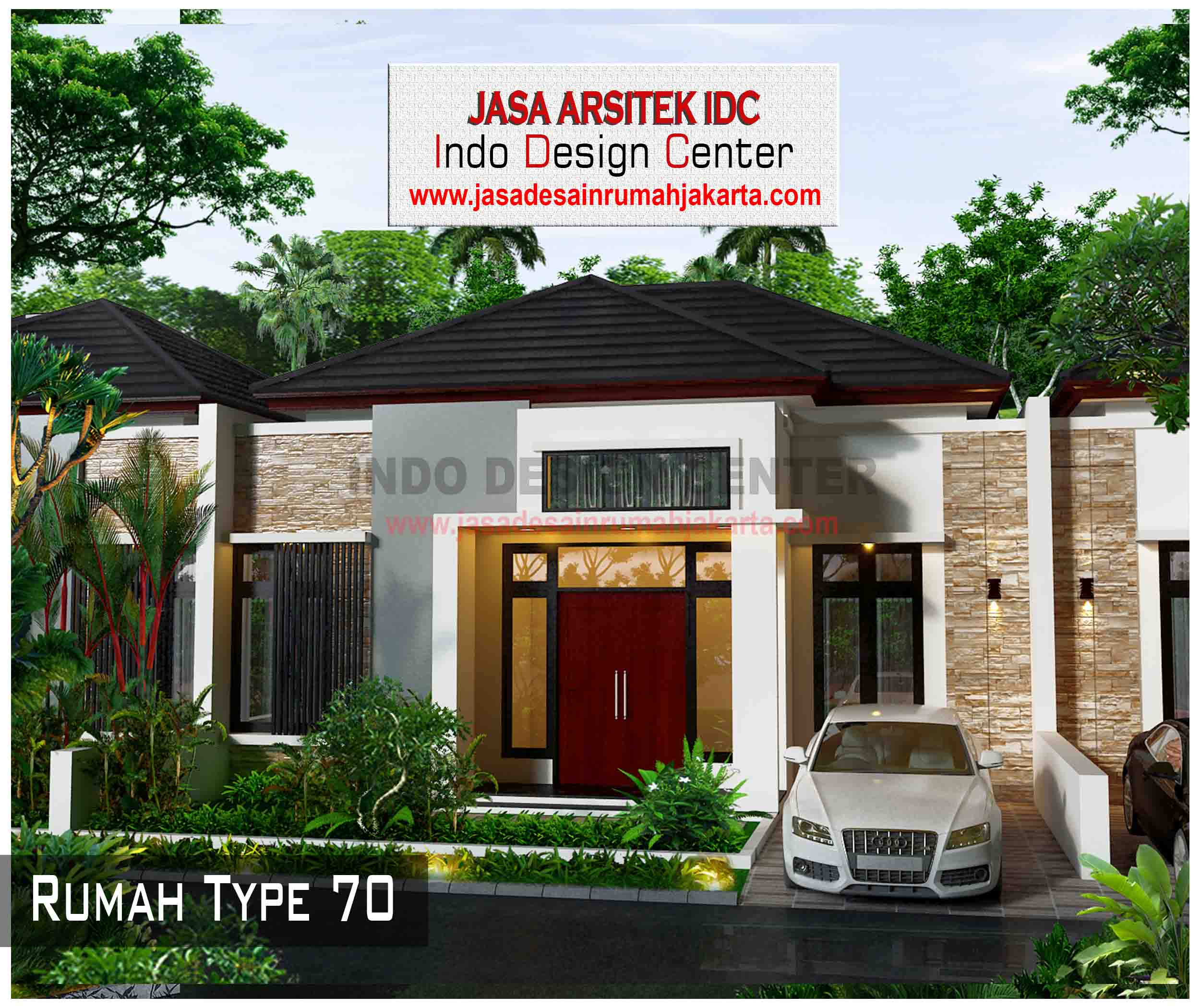 Desain Rumah Type 70 Arsip Jasa Desain Rumah Jakarta
