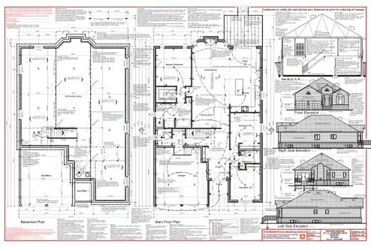 Gambar desain rumah lengkap