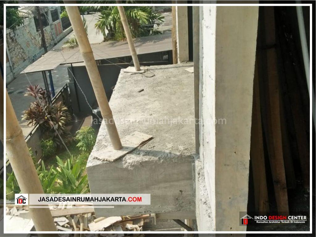 Kontruksi Balkon Rumah Minimalis Bpk Soni-Arsitek Gambar Rumah Klasik Modern Di Jakarta-Bekasi-Surabaya-Tangerang-Bandung-Jasa Konsultan Desain Arsitek Profesional 1