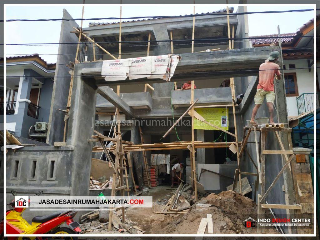 Pengerjaan Acian Rumah Minimalis Bpk Soni-Arsitek Gambar Rumah Klasik Modern Di Jakarta-Bekasi-Surabaya-Tangerang-Bandung-Jasa Konsultan Desain Arsitek Profesional 1