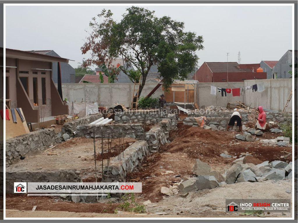 Pengerjaan Pondasi Rumah Minimalis Bu Citra - Arsitek Gambar Rumah Klasik Modern Di Bekasi-Jakarta-Surabaya-Tangerang-Bandung-Jasa Konsultan Desain Arsitek Profesional 1