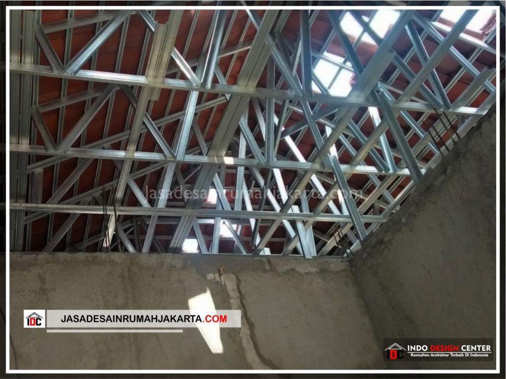 Rangka Atap Rumah Minimalis Bpk Soni-Arsitek Gambar Rumah Klasik Modern Di Jakarta-Bekasi-Surabaya-Tangerang-Bandung-Jasa Konsultan Desain Arsitek Profesional 1