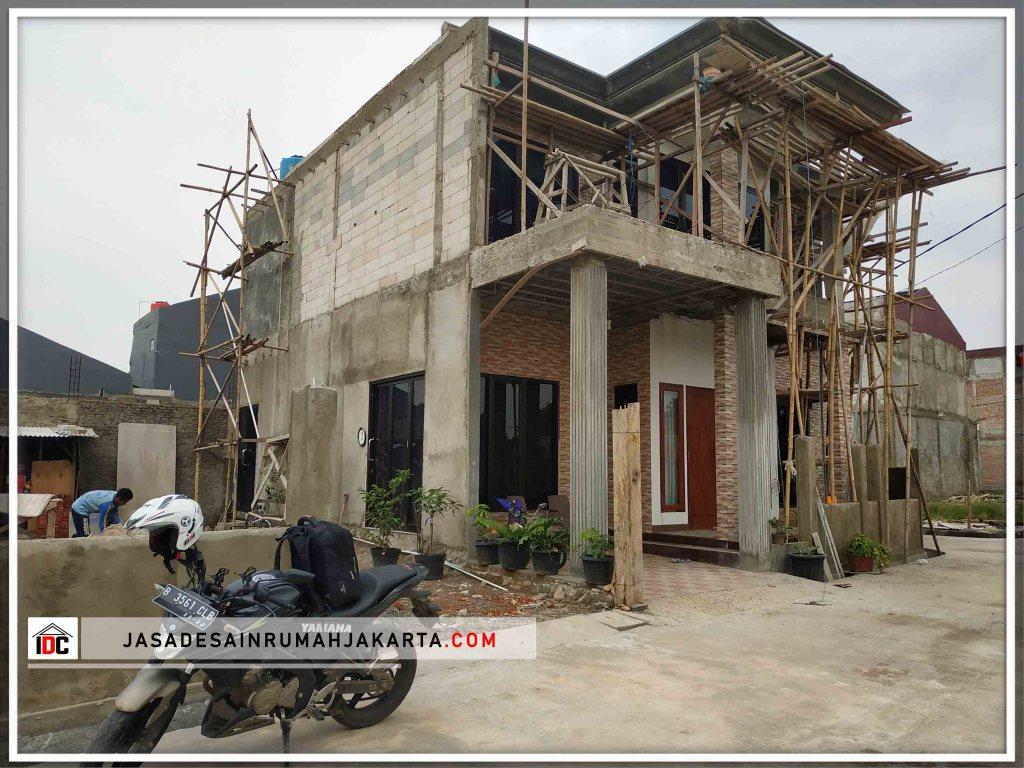 Realisasi Desain Rumah Classic Klasik Modern Di Bekasi Kunjungan Maret 2019