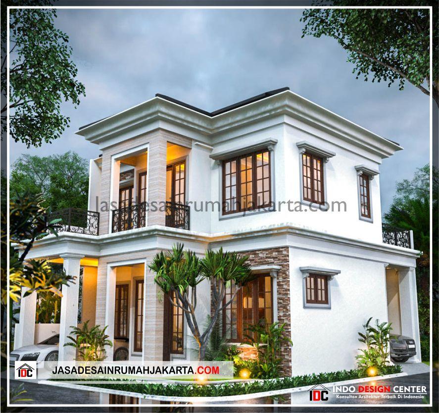 Rencana Desain Rumah Bu Cahya - Arsitek Gambar Desain Rumah Klasik Modern Di Bekasi-Jakarta-Surabaya-Tangerang-Bandung-Jasa Konsultan Desain Arsitek Profesional 2
