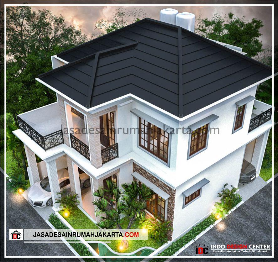 Rencana Desain Rumah Bu Cahya - Arsitek Gambar Desain Rumah Klasik Modern Di Bekasi-Jakarta-Surabaya-Tangerang-Bandung-Jasa Konsultan Desain Arsitek Profesional 3