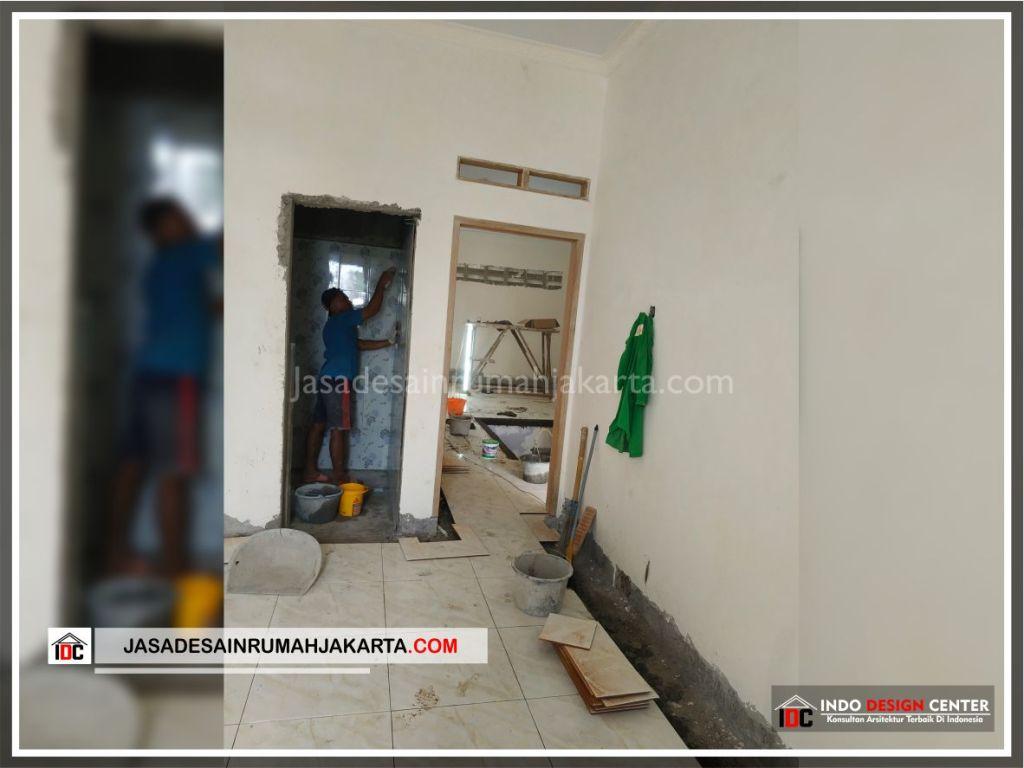 Flooring Lantai 2 Rumah Bpk Tarsi-Arsitek Gambar Desain Rumah Minimalis Modern Di Tangerang-Jakarta-Surabaya-Bekasi-Bandung-Jasa Konsultan Desain Arsitek Profesional 1
