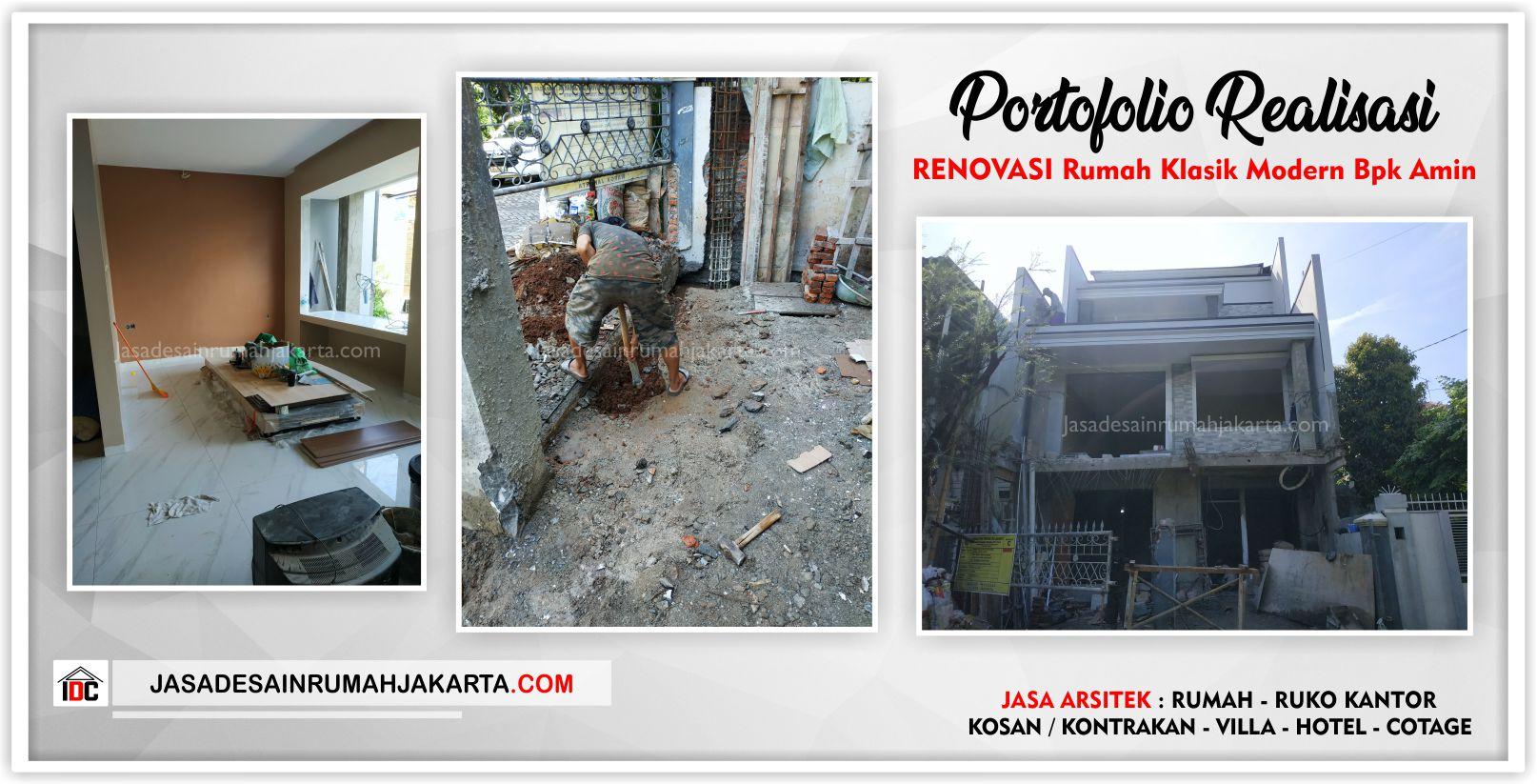 Realisasi Kunjungan V Proyek Renovasi Rumah Klasik Modern 3 Lantai Bpk Amin Jakarta Barat Jasa Desain Rumah Jakarta Jasa Gambar Rumah Jasa Arsitek Rumah Jasa Interior Rumah Jasa Renovasi Rumah