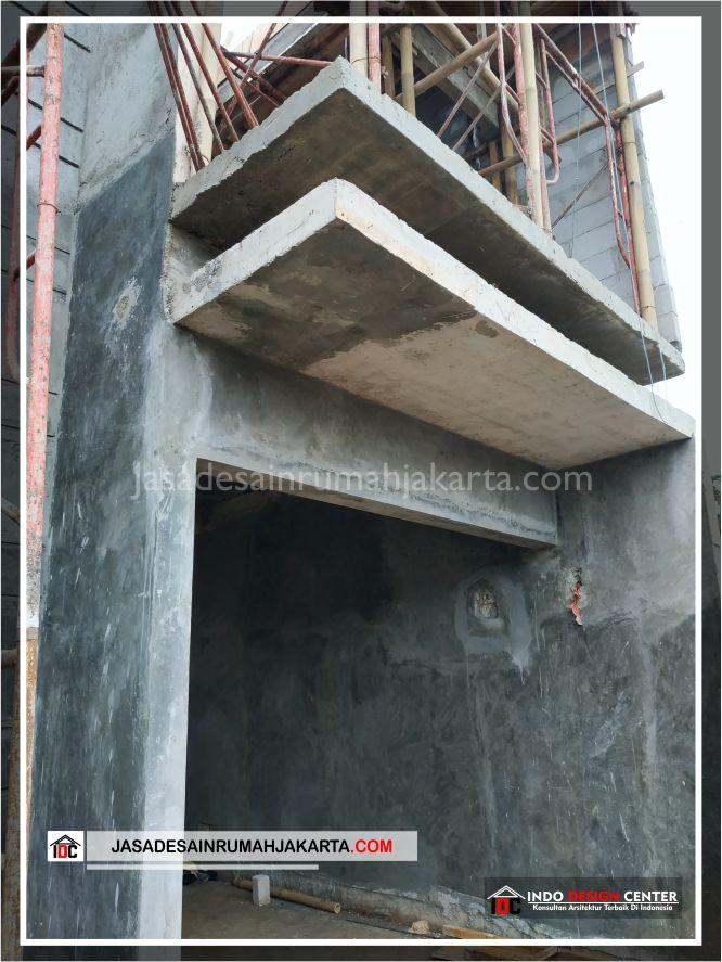 Kontruksi Kanopi Rumah Bpk Tito-Arsitek Gambar Desain Rumah Minimalis Modern Di Bekasi-Jakarta-Surabaya-Tangerang-Jasa Konsultan Desain Arsitek Profesional 1