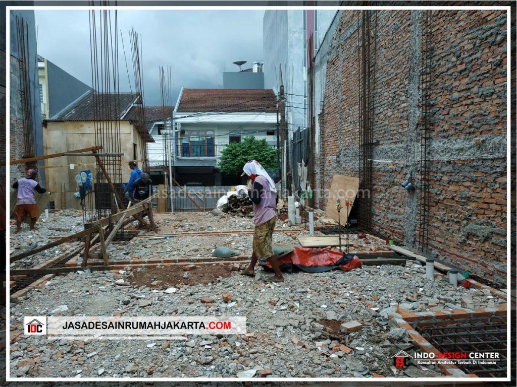 Pengerjaan Pondasi Rumah Bpk Udin Huang-Arsitek Gambar Desain Rumah Minimalis Modern Di Jakarta-Tangerang-Surabaya-Bekasi-Bandung-Jasa Konsultan Desain Arsitek 1