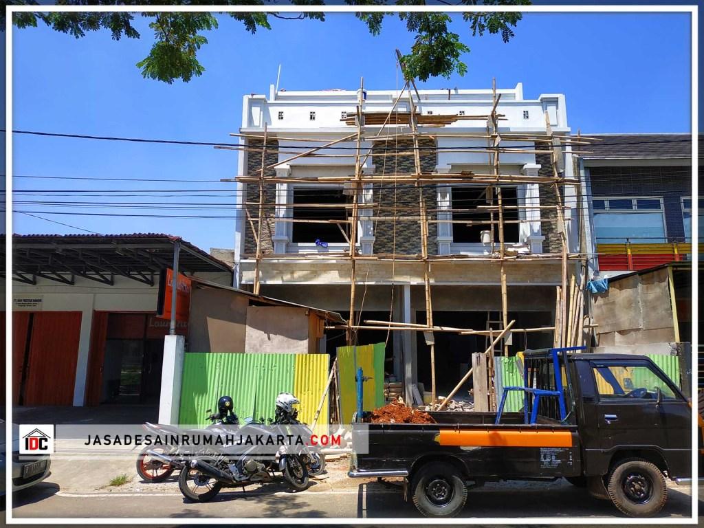 Realisasi Desain Rumah Minimalis Pak Frans Di Tangerang Kunjungan Mar 2019