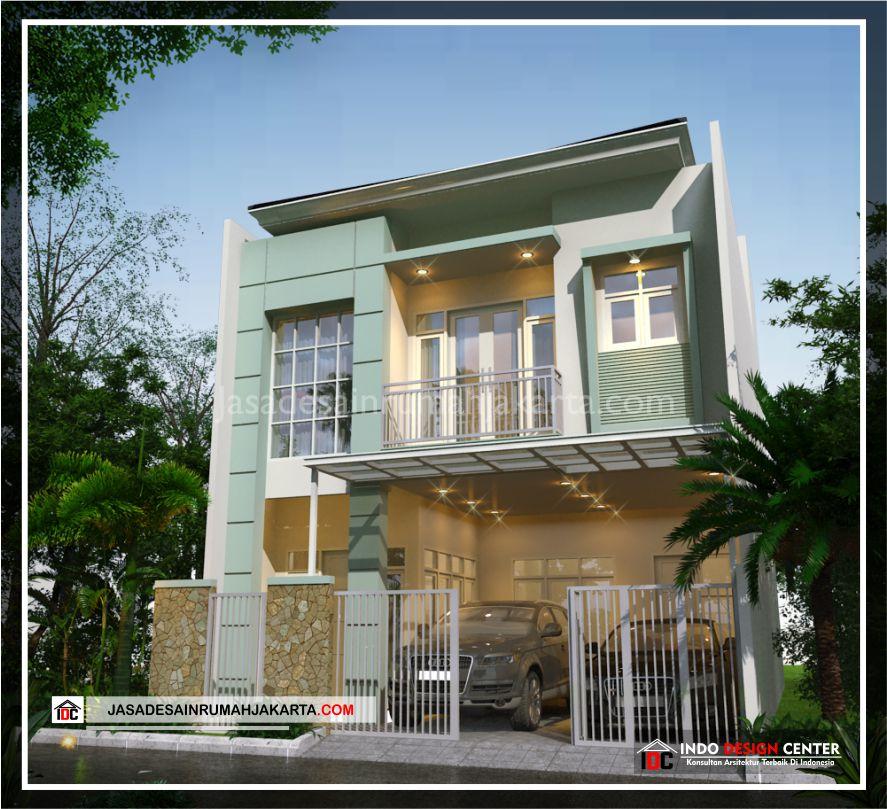 Rencana Desain Rumah Bpk Adi-Arsitek Gambar Desain Rumah Minimalis Modern Di Bekasi-Jakarta-Surabaya-Tangerang-Bandung-Depok-Jasa Konsultan Desain Arsitek Profesional 2