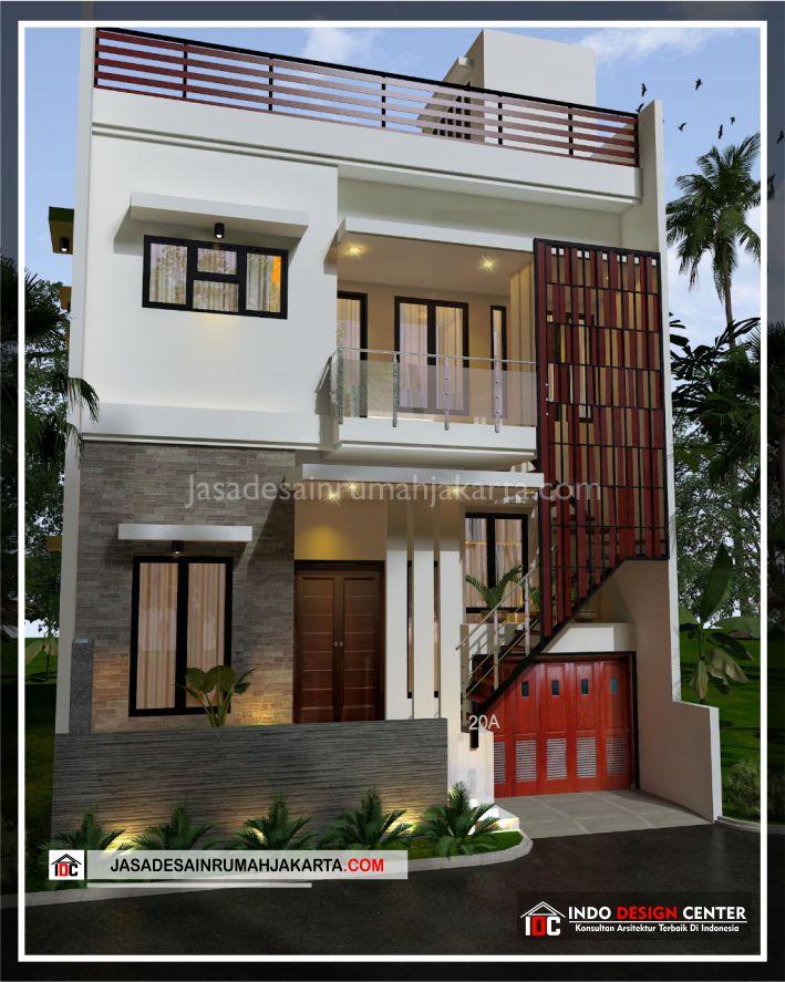 Rencana Desain Rumah Bpk Ricardo-Arsitek Gambar Desain Rumah Minimalis Modern Di Jakarta-Tangerang-Surabaya-Bekasi-Bandung-Depok-Jasa Konsultan Desain Arsitek 1