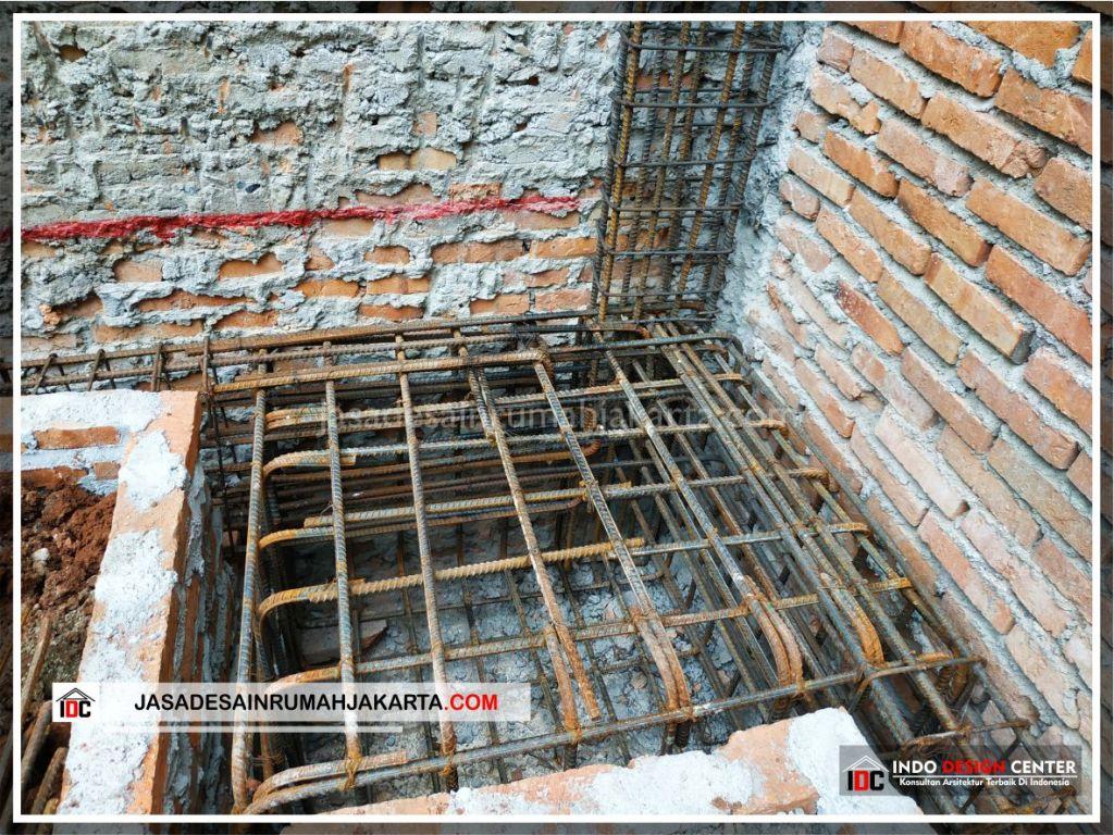 Tulangan Pondasi Rumah Bpk Udin Huang-Arsitek Gambar Desain Rumah Minimalis Modern Di Jakarta-Tangerang-Surabaya-Bekasi-Bandung-Jasa Konsultan Desain Arsitek 2