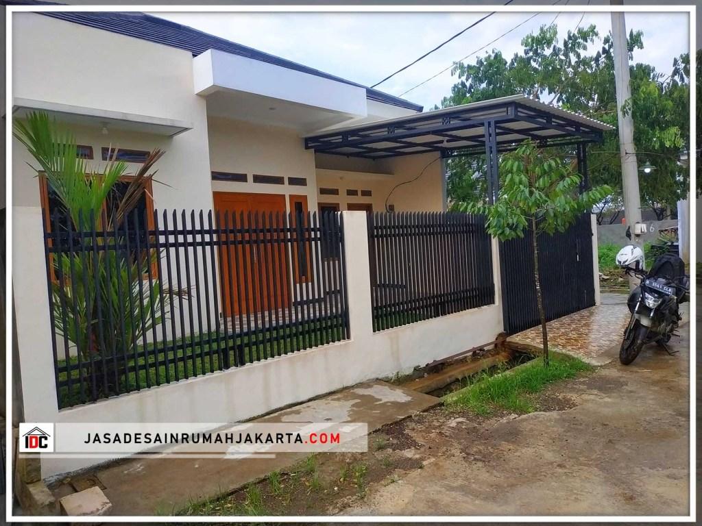 Realisasi Desain Rumah Minimalis Pak Lukman Di Bekasi April 19