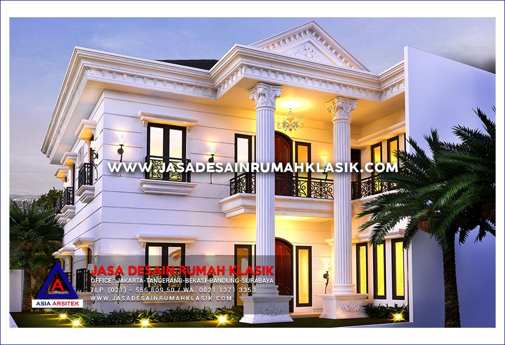 Jasa Desain Rumah Klasik Mewah Di Bandung