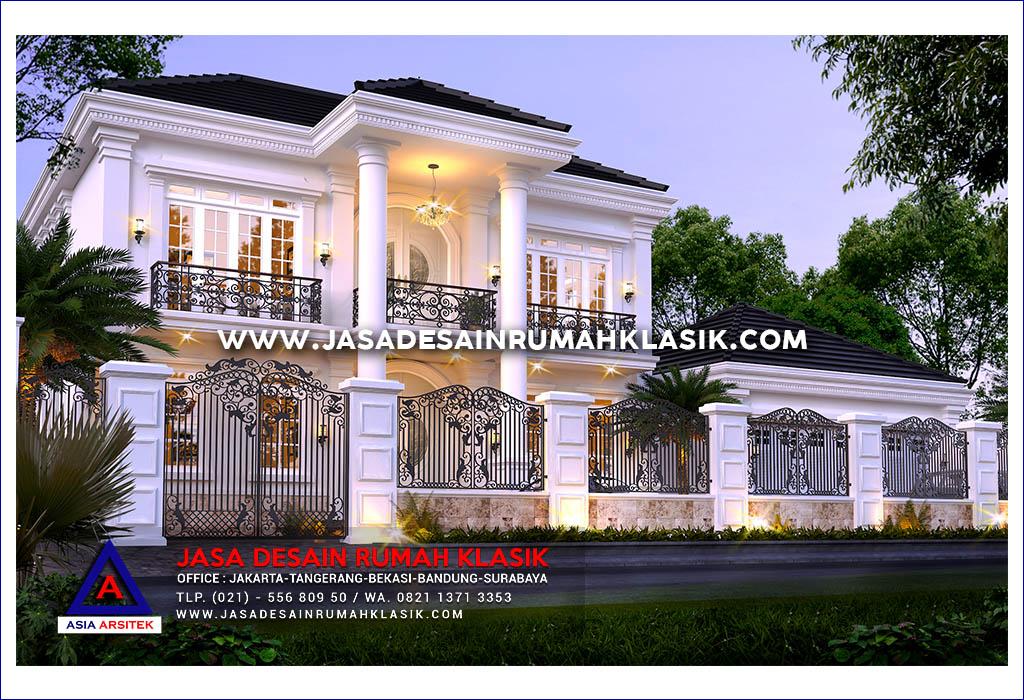Jasa Arsitek Desain Rumah Klasik Modern Di Jakarta Utara