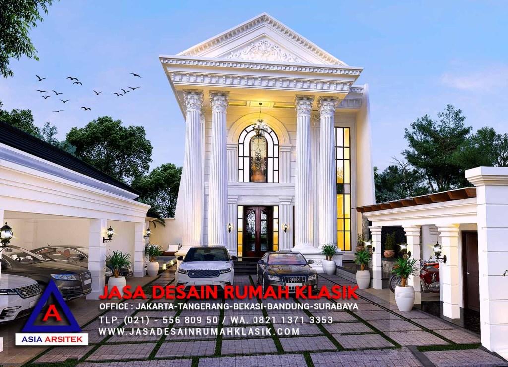 Jasa Desain Rumah Klasik Mewah Di Pantai Indah Kapuk Jakarta Utara