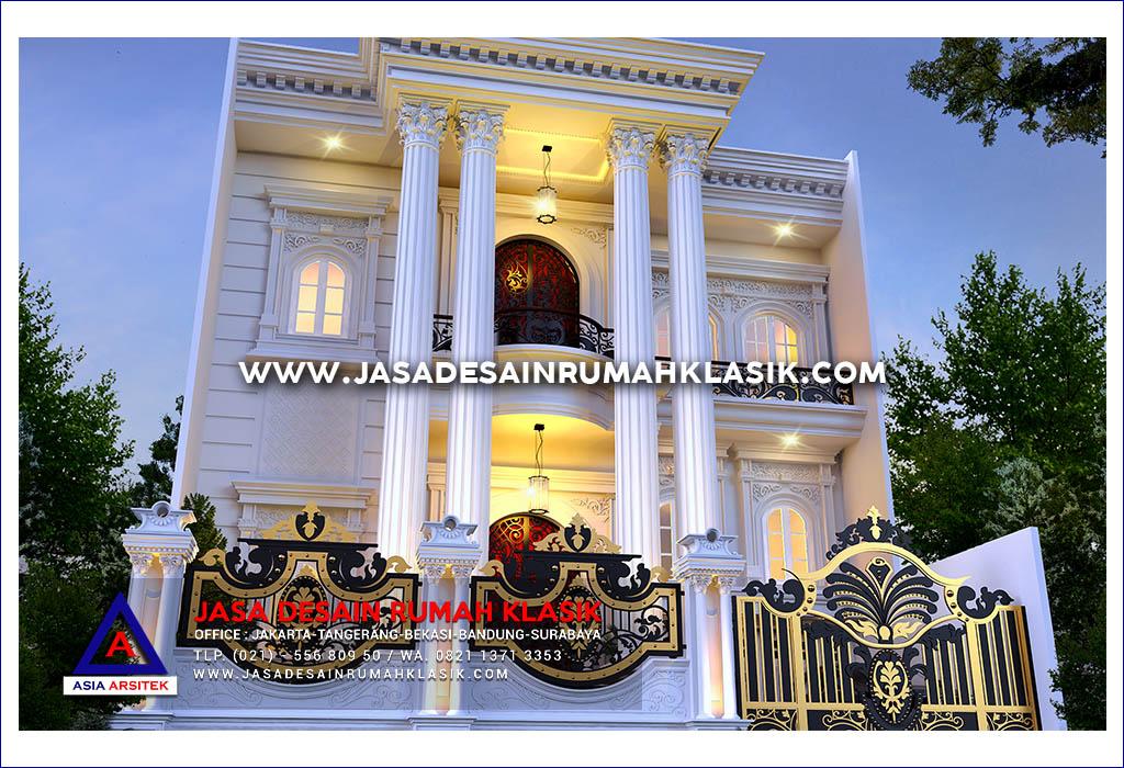 Jasa Arsitek Desain Rumah Klasik Mewah Di Tangerang
