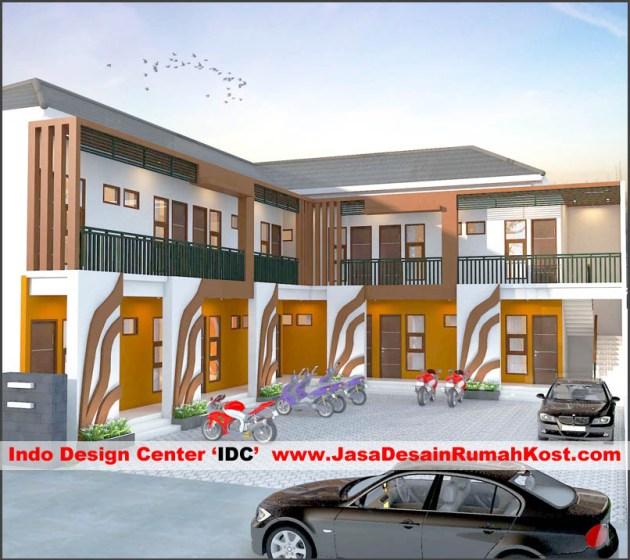 Desain Rumah Kost 2 Lantai Di Rawamangun E