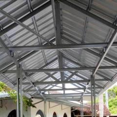 Baja Ringan Yogyakarta Jasa Konstruksi Pemasangan Rangka
