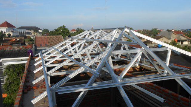 perusahaan baja ringan di jakarta jasa pasang atap rangka kanopi harga jual