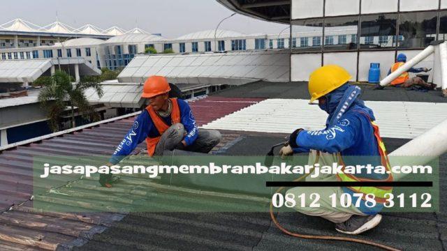 aplikator membran bakar waterproofing jakarta 0812 1078 3112