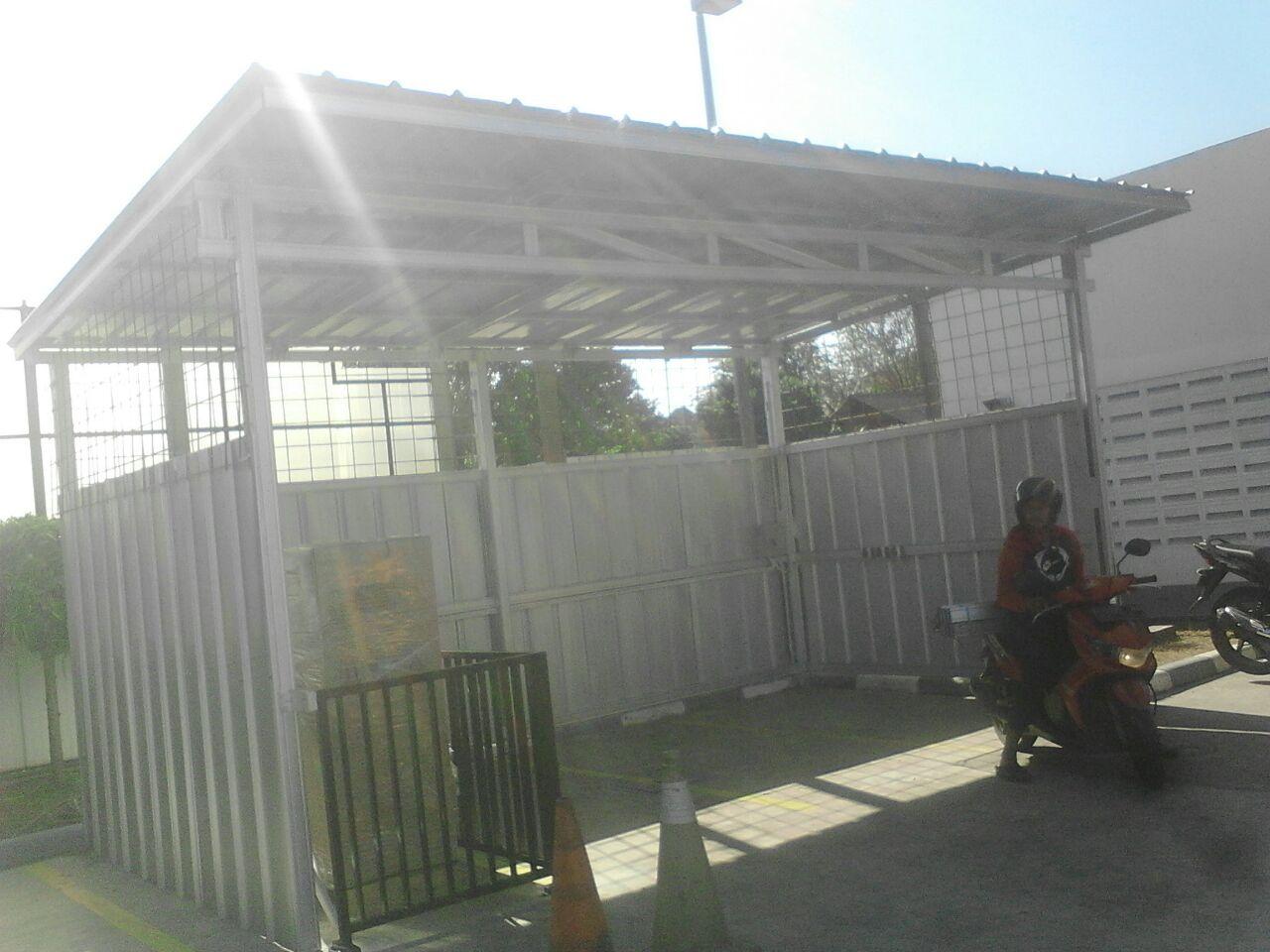 pasang canopy baja ringan depok kanopi 0812 1166 2282 termurah