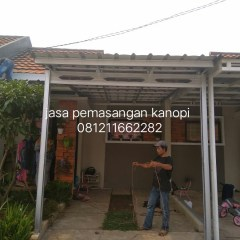 Pasang Canopy Baja Ringan Depok Jasa Kanopi Bogor 0812 1166 2282 Termurah