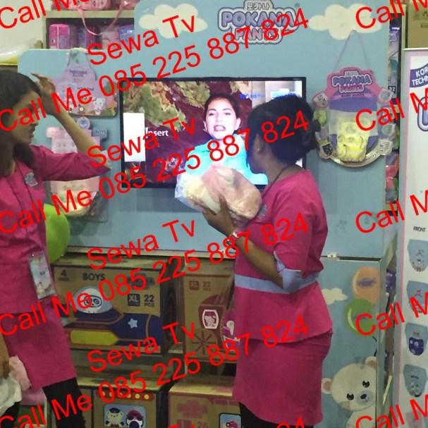sewa standing tv plasma solo
