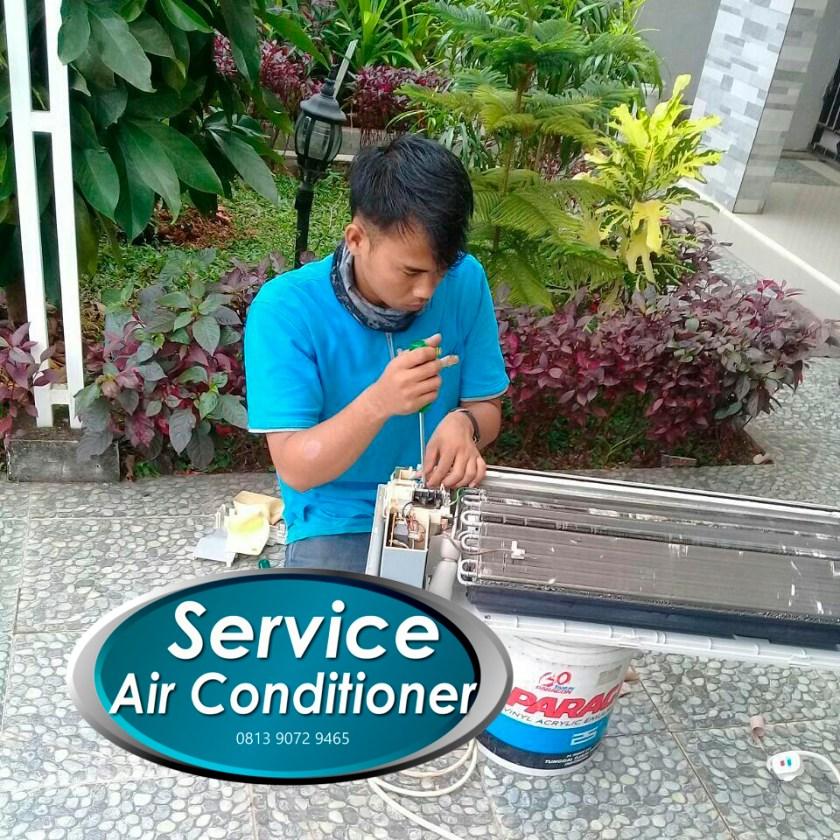 biaya service ac solo