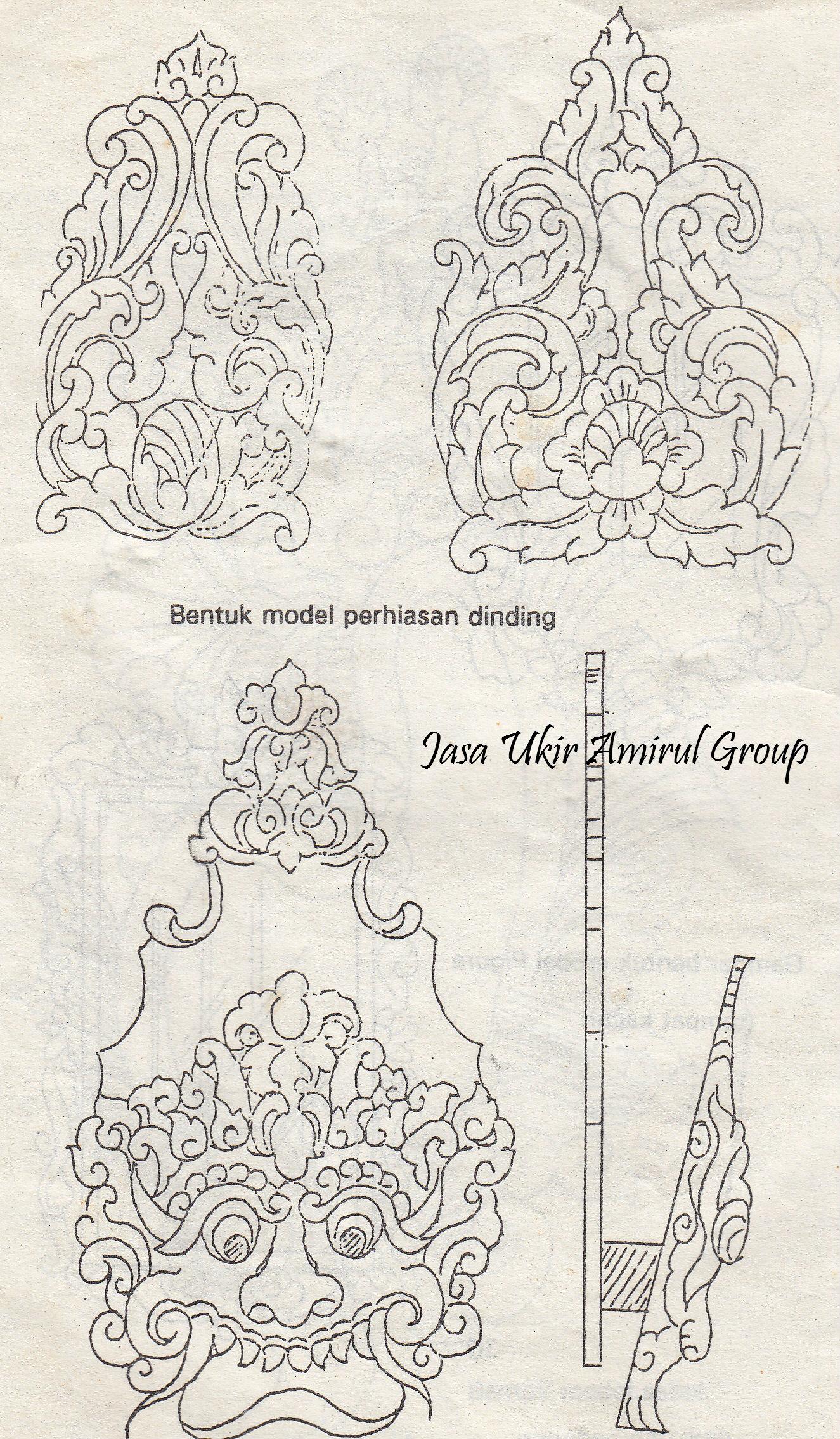 design motif  Jasa Ukir Online  Jasa Ukiran Khas Jepara