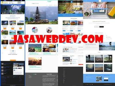 Website Transport Murah di Bali