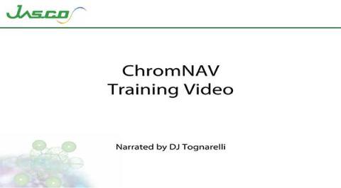 Starting ChromNAV Video